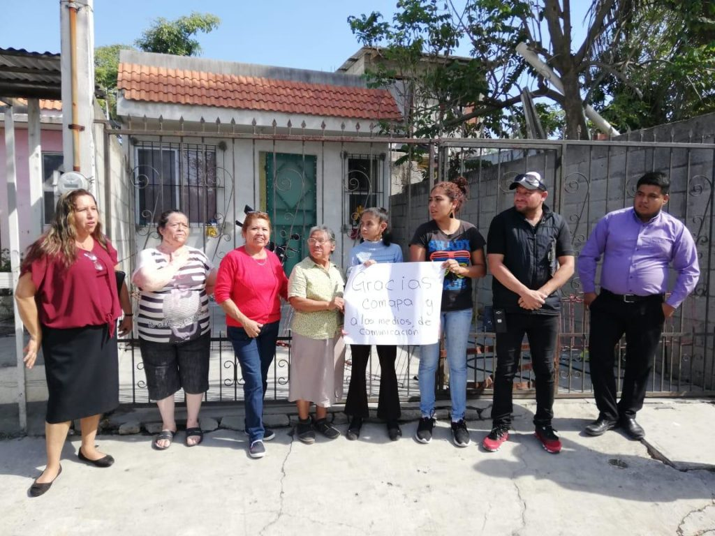 Aplauden colonos respuesta eficaz de Comapa Zona Conurbada