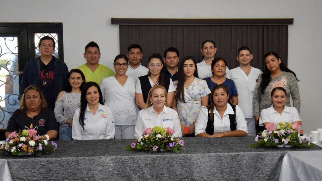 Reconoce Alma Laura Amparán labor de enfermeras del DIF Altamira