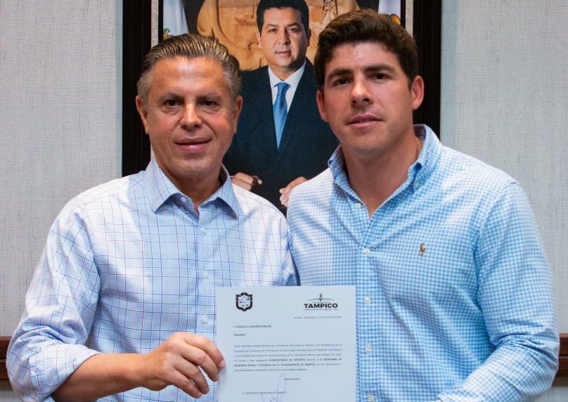 Nombra Chucho Nader a Marcelo Cazaubón como Subsecretario de Bienestar Social y Deportes