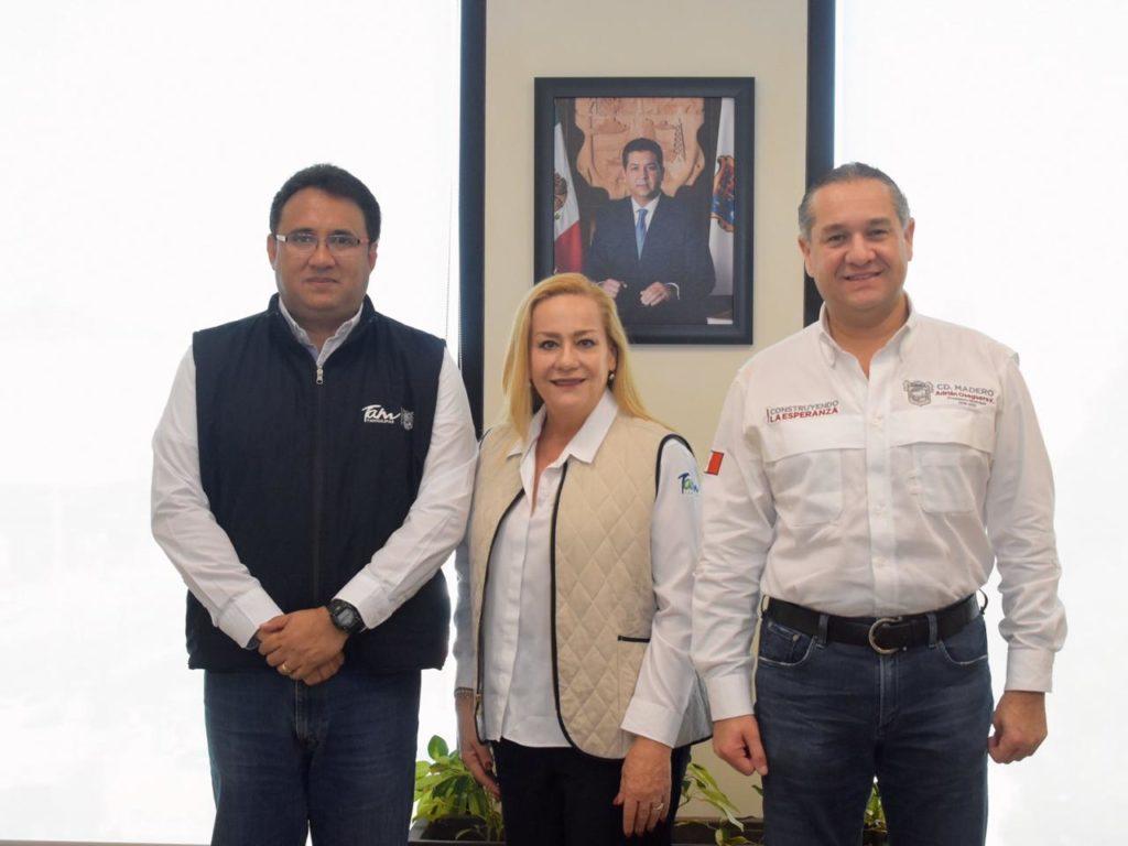 Atrae Alma Laura Amparán beneficios de la Secretaría de Pesca para los altamirenses