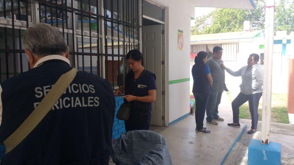 Entran a clases y descubren robo en primaria de Tampico