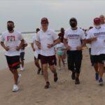 Erasmo González respalda a deportistas del séptimo distrito