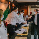 Directores municipales rinden protesta en Gobierno de Adrián Oseguera