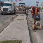 En Matamoros inician trabajos de modernización en calle Sexta para mejorar la movilidad vehicular